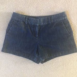 Loft denim jean shorts size 4